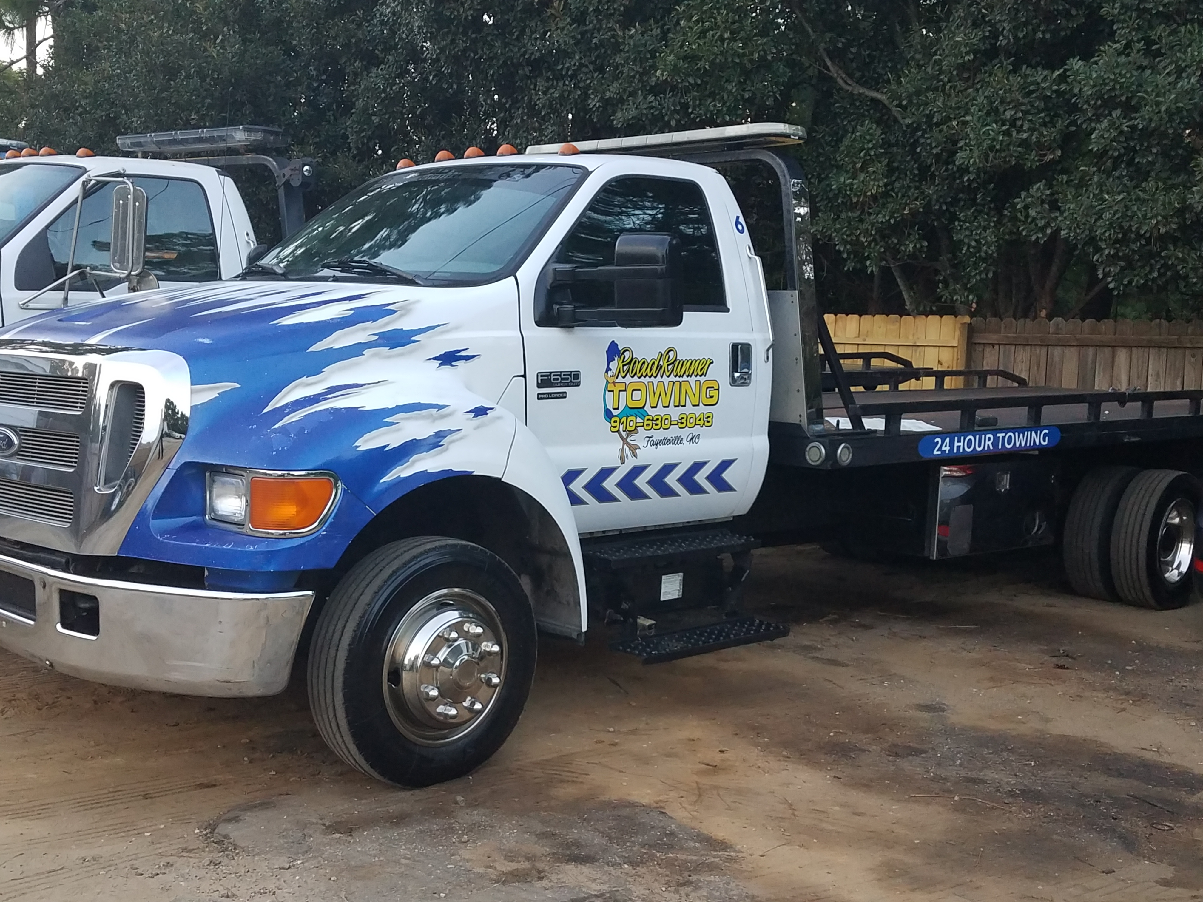 Fayetteville NC Auto Towing Tow Truck Wrecker